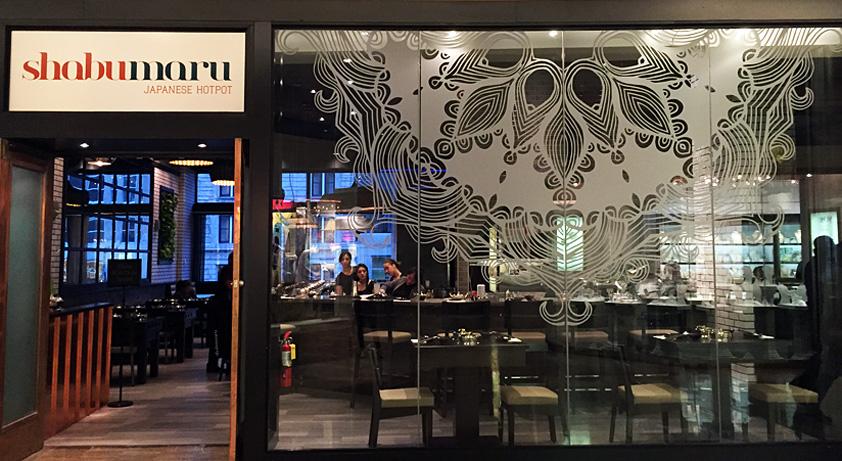 Shabumaru restaurant front